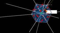 Icosahedron with 6 equiangular linesdefgh