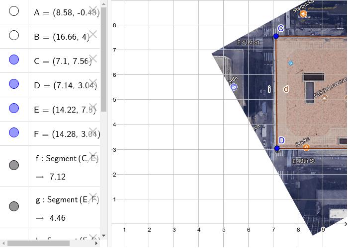 Module 6 Area/ perimeter of building