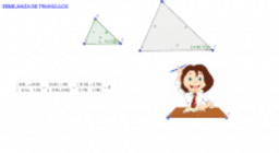 Semejanza de triangulos