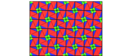 Pythagorean Theorem by Tessellation # 64 Tiling