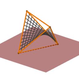 Una herramienta para construir superficies regladas
