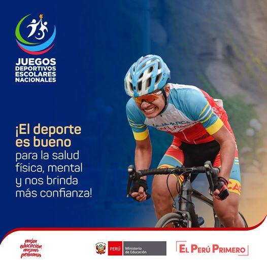 El deporte es Salud. Un ciclista entusiasta.