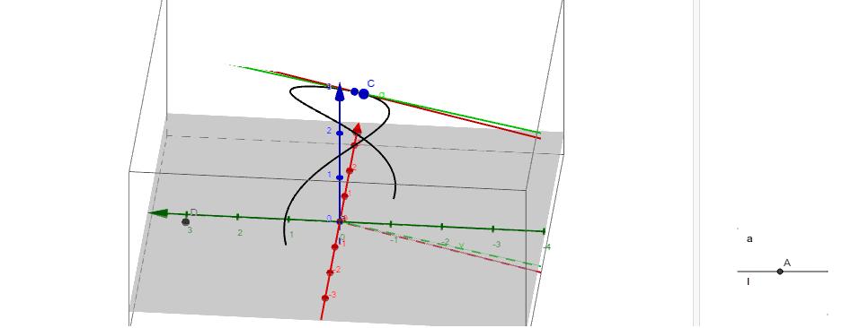 Dérivée d'une fonction de $\mathbb{R}$ dans $\mathbb{R}^3$