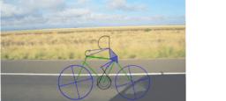 Bicicleta con Ciclista
