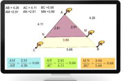 Triangle et Parallele