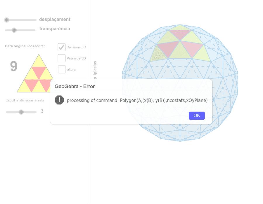 Com construir una cúpula geodèsica a partir d'un icosaedre.