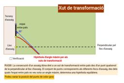 RUGBI: Xuts de transformació