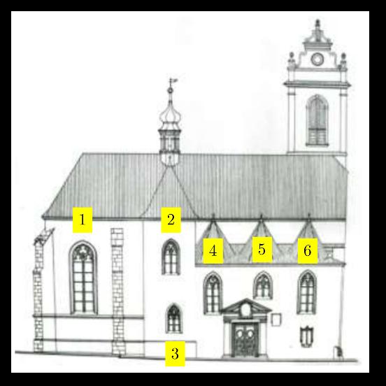 Kostel sv. Martina ve zdi - sever