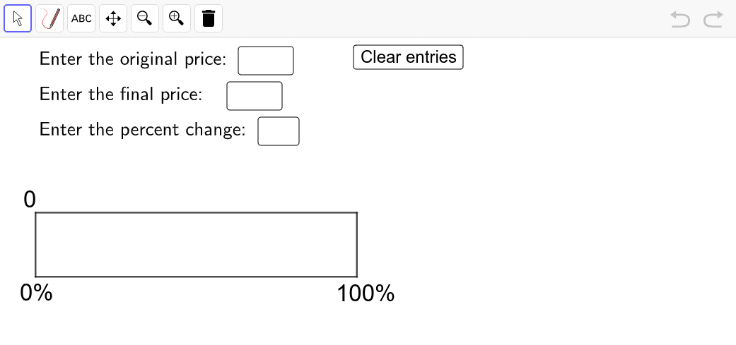 Use this template to help you model and solve the problem above. Press Enter to start activity