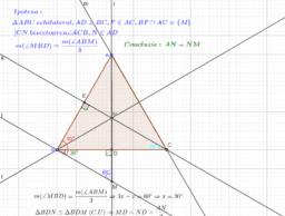 Problema triunghi echilateral