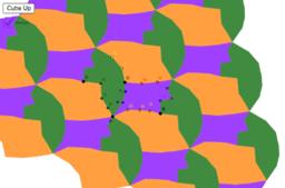 Three Piece Hexagonal Tessellation