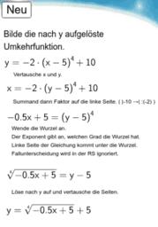10I - Potenzfunktion - Umkehrfunktion