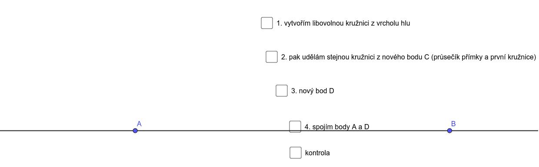 úhel 60° Zahajte aktivitu stisknutím klávesy Enter