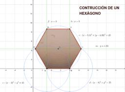Construcción de un hexágono