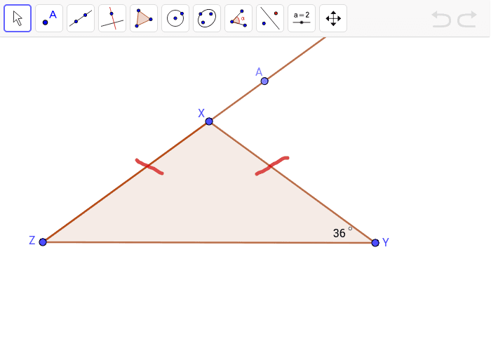 6. Find the measure of Angle AXY.