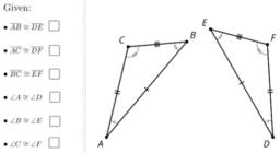 Side-Angle-Side Triangle Congruence: IM Geo.2.6