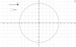 Circle on a grid