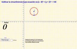 Gráfica de la Circunferencia y su Ecuacion ordinaria