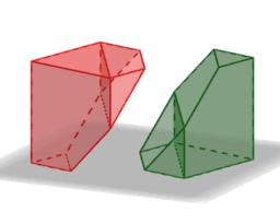 La mitad del cubo