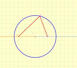 Billar circular (Problema de Alhazen simplificado)