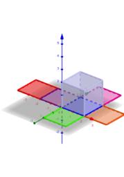 sviluppo di un cubo nel piano con slider