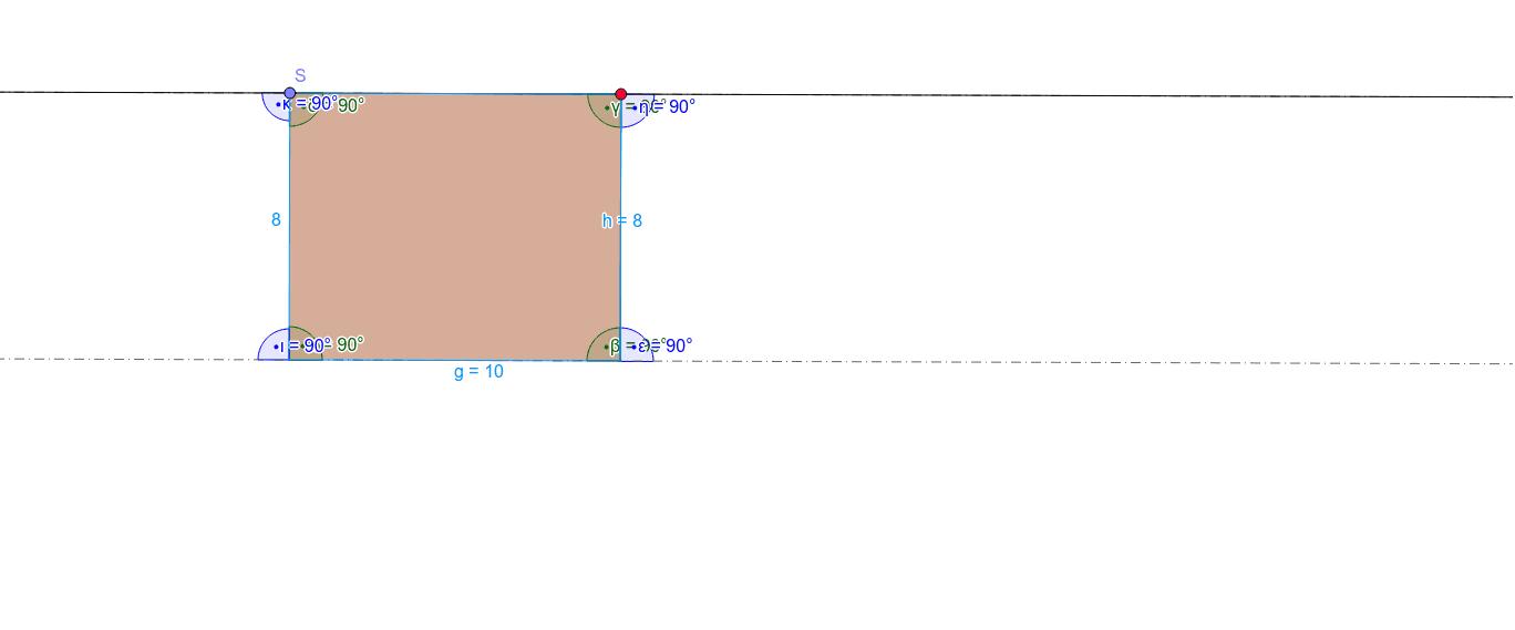 Verändere das Parallelogramm, indem du den roten Punkt verschiebst. Achte darauf, was mit den Winkeln passiert. Was kannst du erkennen?