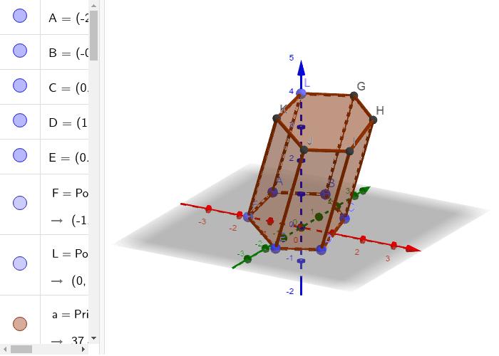 prisma exagonal Press Enter to start activity