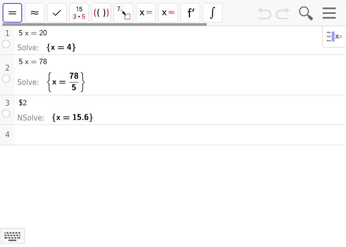 løs ligninger
