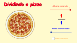 Dividindo a Pizza