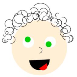 visage marrant par lilou