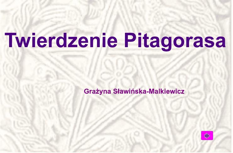Twierdzenie Pitagorasa Naciśnij klawisz Enter, aby rozpocząć aktywność