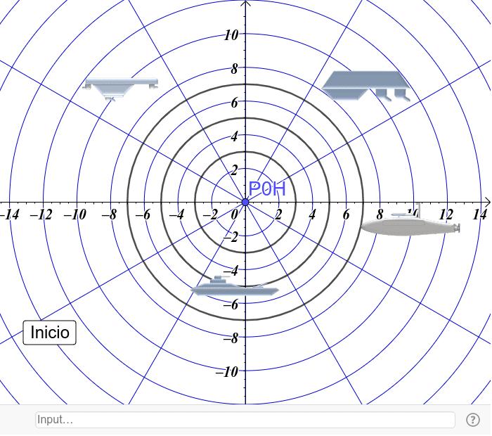 Ejercicios con coordenadas polares Presiona Intro para comenzar la actividad