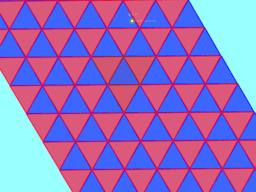 16 Mosaico dinámico con triángulos