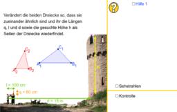 Jakobsstab & Co. - Simulation 1