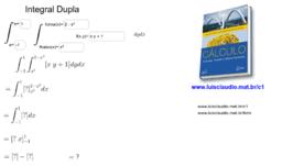 Integral Dupla (dydx) em passos