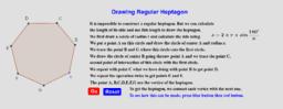 Regular Heptagon