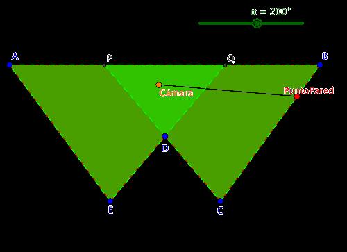 Figura 4a. Sala pentagonal