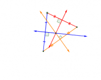 Perpendicular Bisectors in a Triangle