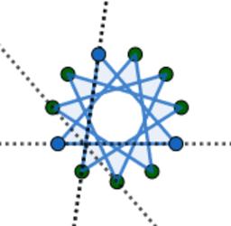 Hendecagram puzzle