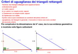 Congruenza Triangoli Rettangoli