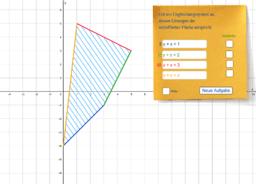 Lineares Ungleichungssystem aufstellen