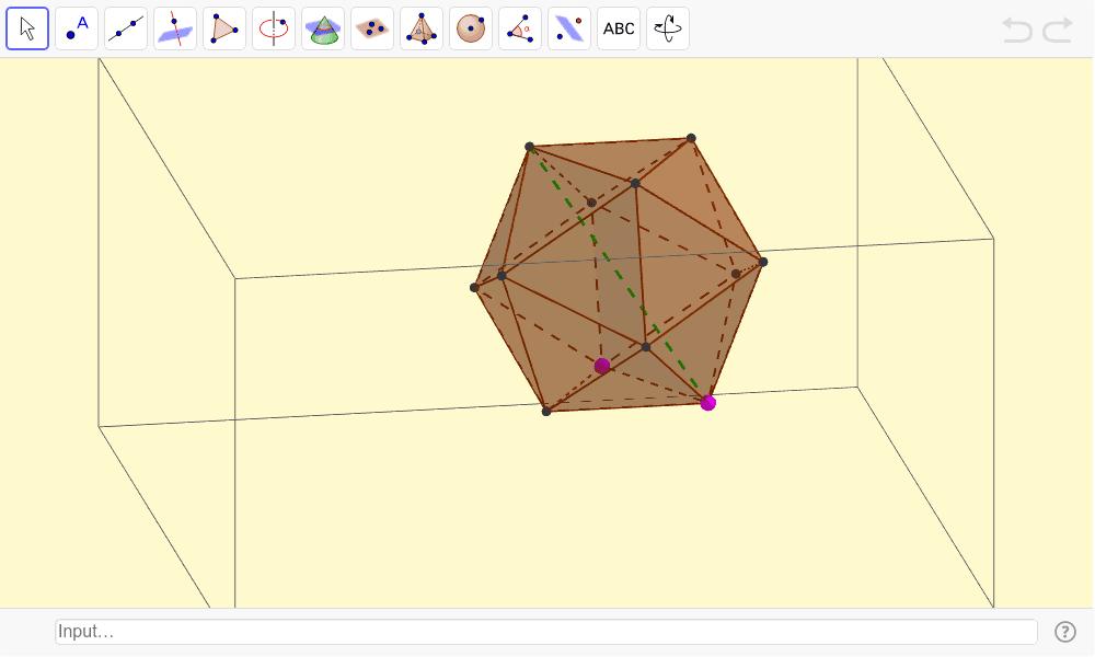 Icosaedro Presiona Intro para comezar a actividade