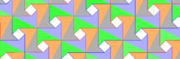 Pythagorean Tessellation # 22 Tiling