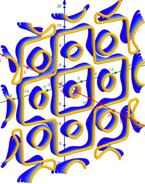 Chladni Figuren- 1 2 6, s=1, L=20  39-44