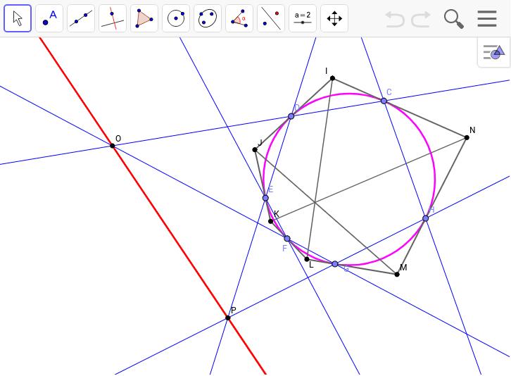 ブリアンションの定理の証明