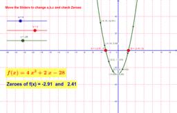 Polynomials and Quadratic Equations