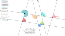 ÜBUNG: Winkel an Geradenkreuzungen bestimmen