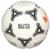 [b]Balón Fútbol Competición, MASTER T-5: [/b] Balón técnico para competición. Cubierta de cuero PU Cordley de 32 paneles cosidos. Fabricado bajo norma ISO9002 de acuerdo a las especificaciones FIFA. Sus cuatro capas de poliéster garantizan estabilidad y evitan la deformación del balón. Cámara de látex de doble laminado y válvula de Butyl automática.  [b]Datos técnicos:[/b] [list][*]Peso: 425-435 gr. [/*][*]Circunferencia: 68-70 cm[/*][/list]