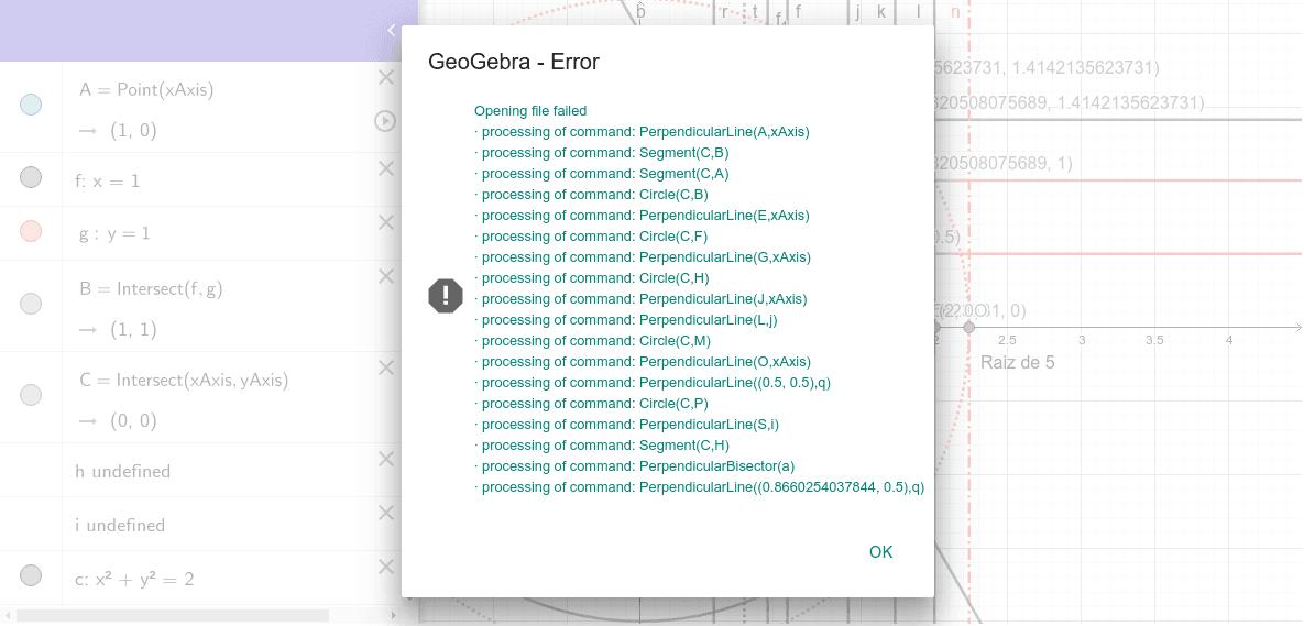 GeoGebra Applet Presiona Intro para comenzar la actividad