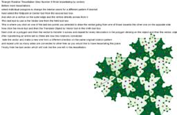 Triangle Rotation Tessellation Step Number 8 finish tessella